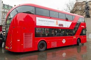 Новий дизайн двоповерхового автобуса Лондона